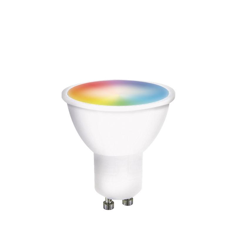 Solight LED SMART WIFI žárovka, GU10, 5W, RGB, 400lm